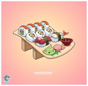 Sushi ilustration
